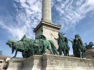 In+Budapest%2C+on+the+second+day+of+the+trip%2C+students+walked+around+and+viewed+the+different+statues+found+in+Heroes%E2%80%99+Square.+While+looking+at+the+different+statues%2C+students+soaked+in+the+history+of+the+different+rulers+of+Hungary+throughout+the+years.