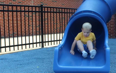 NC preschoolers slide into a new school year