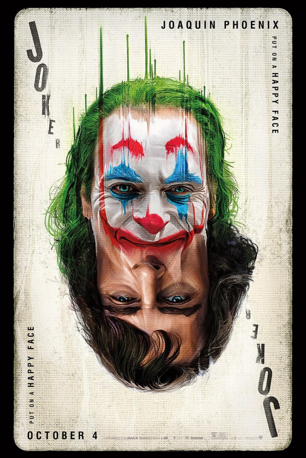 The final poster for Joker released two weeks before the film's release. The new film, based on the iconic DC supervillain of the same name, stars Joaquin Phoenix, Robert De Niro, Zazie Beetz, and Frances Conroy. Directed by Todd Phillips (War Dogs), the film tells the tale of failed stand-up comedian Arthur Fleck who, after society constantly rejects and neglects him, becomes a symbol of chaos and unrest in a 1980's Gotham City.