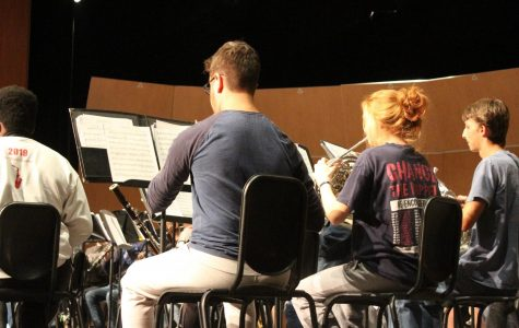 The NC band performed their fall concert in the PAC on Tuesday, October 29. All the band classes combined and performed together for this annual concert.