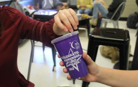 In honor of Breast Cancer Awareness Month, National Honor Society (NHS) members will collect any donations from students, teachers, and their community. The donations help fund for research into the diagnosis, treatment, and cure of the disease. To donate, look for any NHS members with a purple cup or bucket.