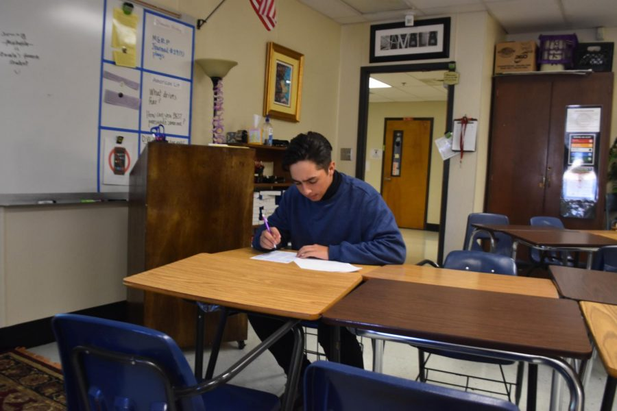 A local NC student diligently takes an English test, carrying on the school's tradition of academic excellence. Recently, the 2019 College & Career Ready Performance Index (CCRPI) came out for NC. Overall, a 4.8% increase from the score last year presented itself, rising from 79.8 to 84.6. The school also saw notable gains in all 5 of the platform's components: more specifically, AP Course Completion grew by 6.2%, Literacy scores rose up 4.1%, and Pathway Completion increased by 5.1%.