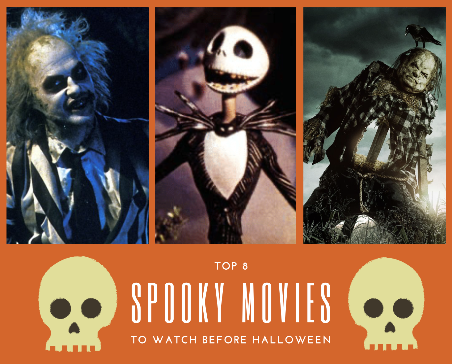 As Holloween this year is destined to be a wash out, settle in, get comfy and catch up on all the best spooktacular films of the season.