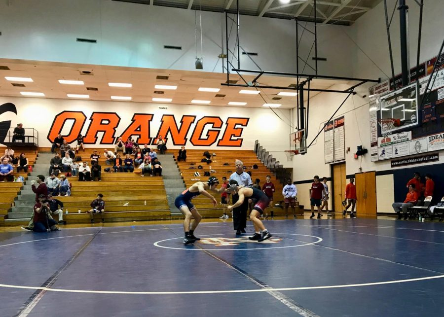 "NC proved their skills on the mat in their first two wins. Varsity wrestler Anthony Miranda believes that in order to win a match, a wrestler must believe in themselves no matter who they face. He, along with his teammates stayed quick on their feet and continue to work hard, their eyes set on the state tournament. ""You know it's like a warrior against a warrior,"" Miranda said."