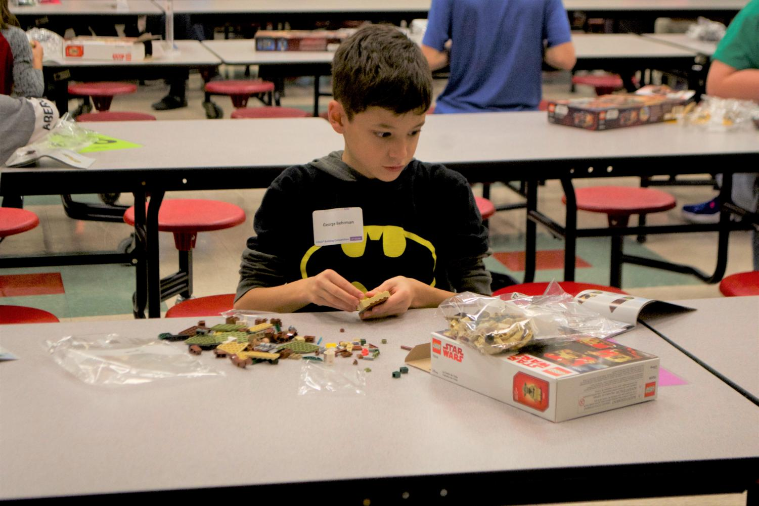 """The AES lego competition enables students to dive deep into their imaginations and relish in their creativity. Students can see tangible results of actualizing their imaginations. """"Lego has essentially taken the concrete block, the building block of the world, and made it into the building blocks of our imagination,"""" Ayah Bdeir said."""