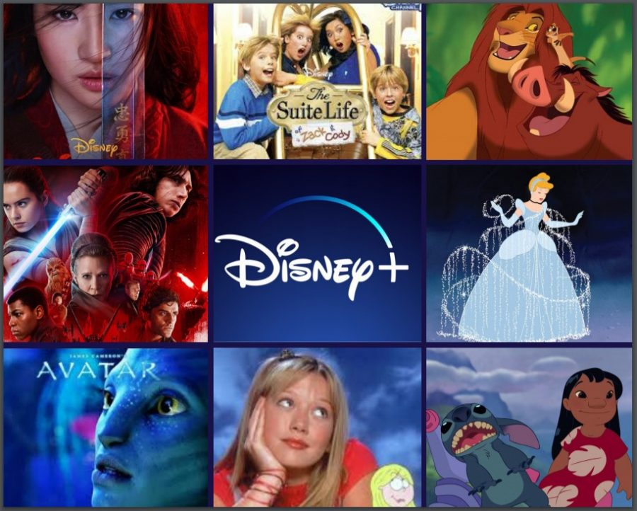 "Released on November 12, Disney's new streaming service Disney Plus plays host to a variety of movies and TV shows like ""That's So Raven,"" ""Mulan,"" ""Lizzey McGuire"" and a variety of others. Viewers can browse 612 movies and 156 TV shows. The service received 10 million subscribers on launch day, a number that is projected to keep growing."