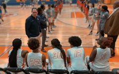 Family feud: NC Varsity girls face off against McEachern Indians at Family Night game