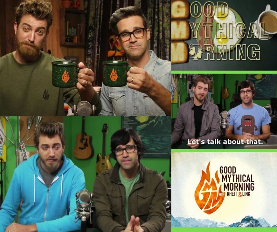 After+a+long+journey+of+creating+comedic+music%2C+fun+challenges+and+commercials+for+their+local+community%2C+YouTube+duo+Rhett+and+Link+created+beloved+show+Good+Mythical+Morning%2C+along+with+Good+Mythical+More%2C+using+the+word+mythical+to+express+their+creativity.+Through+creating+crazy+food+combos+and+playing+various+games%2C+they+implement+%E2%80%98mythicality%E2%80%99+as+an+element+of+mystery%2C+finding+what%27s+going+to+happen+when+challenging+normal+standards.+Seven+years+and+16+seasons+later%2C+their+show+remains+highly+popular+with+over+16+million+subscribers+on+their+main+GMM+channel.+