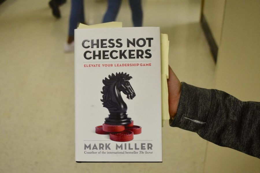 "Prior to the start of the school day, the NC administration and staff began their first leadership meeting by reading, Chess Not Checkers by Mark Miller. In order to successfully create a unified school, the NC administration hopes to create strong chemistry and respect in the staff department. ""The intention behind the book study is to build capacity with those who work in the building, no matter the department or subject area,"" Assistant Principal Lexie Boultman said."