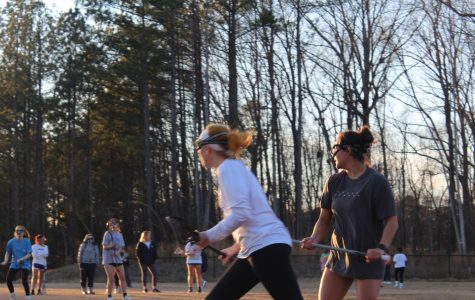With the 2020 NC lacrosse season just around the corner, the NC girls Varsity lacrosse team prepares for their season by conditioning intensely every day, Monday through Friday. After failing to make it to playoffs this year, the Lady Warriors plan to come back stronger than before thanks to new and returning players and a stronger bond as a team.