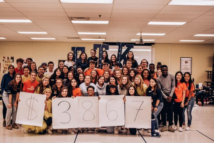 With+students+from+both+NC+and+Georgia+Tech+coming+together+to+dance+for+the+kids%2C+they+raised+over+%243%2C000+that+will+entirely+go+to+CHOA.+Through+their+dancing+and+fundraising%2C+new+friendships+were+made+between+high+school+and+college+students+as+they+collectively+worked+towards+helping+children+in+need.
