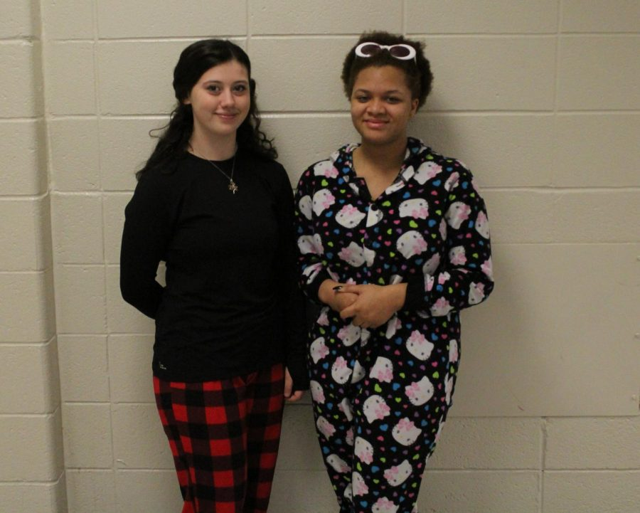 PJ day for Hoopcoming