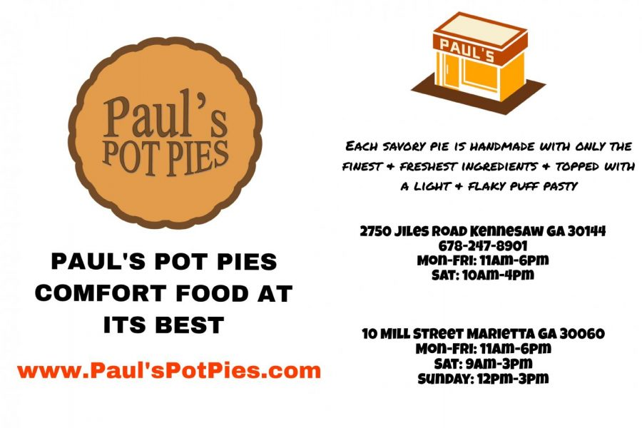 Paul's Pot Pies Ad