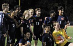 Boys' varsity soccer dedicates game to #LongLiveDre and #PrayForJames
