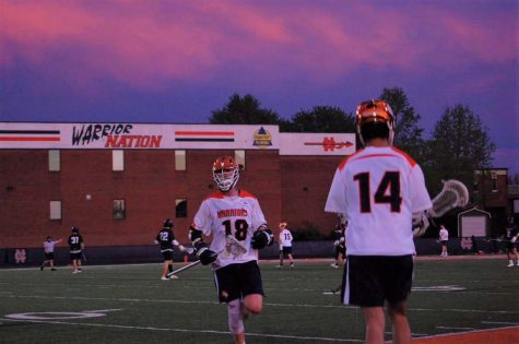 On Wednesday, February 5, Kell High School and the Warrior Varsity lacrosse team played an intense scrimmage with the Longhorns coming out on top. Juniors Walker Goodsite and Trenton Nolen scored heavily contested goals, but unfortunately, in the end, the Longhorns defeated the Warriors.