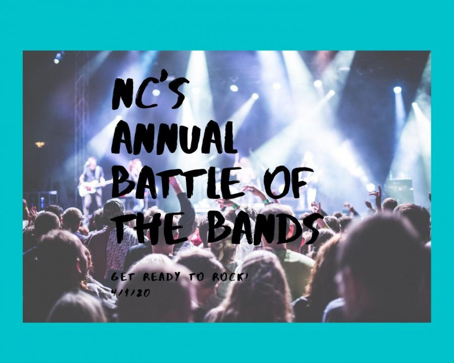 NC%E2%80%99s+math+and+science+departments+will+go+head+to+head+in+the+secret+annual+battle+of+the+bands+showcase+in+NC%E2%80%99s+Performing+Arts+Center.+Bands+Science+Maniac+and+90+Degrees+plan+on+playing+their+greatest+hits+showcasing+their+lead+singers%E2%80%99+dynamic+vocals+and+skills+on+the+bass.+%E2%80%9CWe+hope+we+can+make+it+to+the+finals%2C+winning+the+golden+microphone+means+everything+to+us%21%E2%80%9D+NC+Honors+Algebra+2+and+AMDM+teacher+Fredrick+Hybart+said.