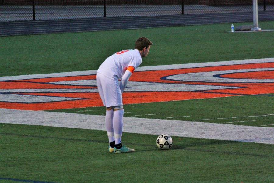 """The NC warriors missed a near goal as the team seemed distracted the entire time they played. They struggled to move quickly on the field before the coaches made the decision to forfeit the game due to health concerns.""""I was struggling to pay attention. Honestly, I did not realize the ball was even near me until I looked up, and it was going straight at me,"""" said junior Elijah Sam."""