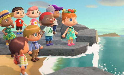 Various customizable avatars gather together near a beach in the recent Nintendo Switch game Animal Crossing: New Horizons. In the midst of the recent COVID-19 outbreak, several NC seniors fear they may find themselves robbed of the ultimate senior year experience: Prom; to remedy this situation, several seniors decided to create a dedicated prom lobby in New Horizons as a way to give the class of 2020 a way to experience this once in a lifetime event.