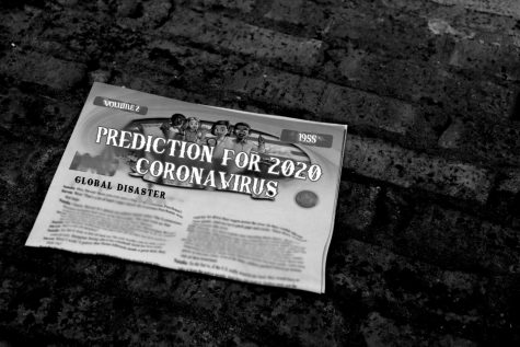 "Journalism students on The Chant staff of 1957 predicted the novel crisis of the coronavirus in 2020. The paper, written anonymously, described how the disease would pose a dangerous risk to the elderly. NC students remain shocked at the accuracy of the prediction. ""I think it's crazy how something written so long ago is predicting what's happening now. I don't really think that this is a coincidence but I don't know any other explanation for it,"" NC senior Nadia Aidan said."