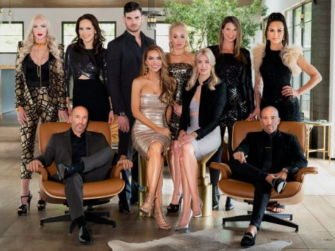 """Each real estate agent on the show Selling Sunset brings their own unique look and drama to the show, making viewers choose sides in the tension. """"My favorite character is Christine [Quinn] because her outfits are so different from the other girls and she never holds back in drama,"""" said senior Sophia Green."""