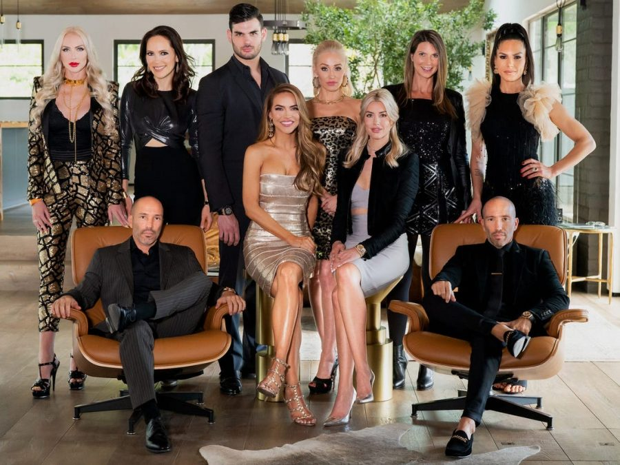 "Each real estate agent on the show Selling Sunset brings their own unique look and drama to the show, making viewers choose sides in the tension. ""My favorite character is Christine [Quinn] because her outfits are so different from the other girls and she never holds back in drama,"" said senior Sophia Green."