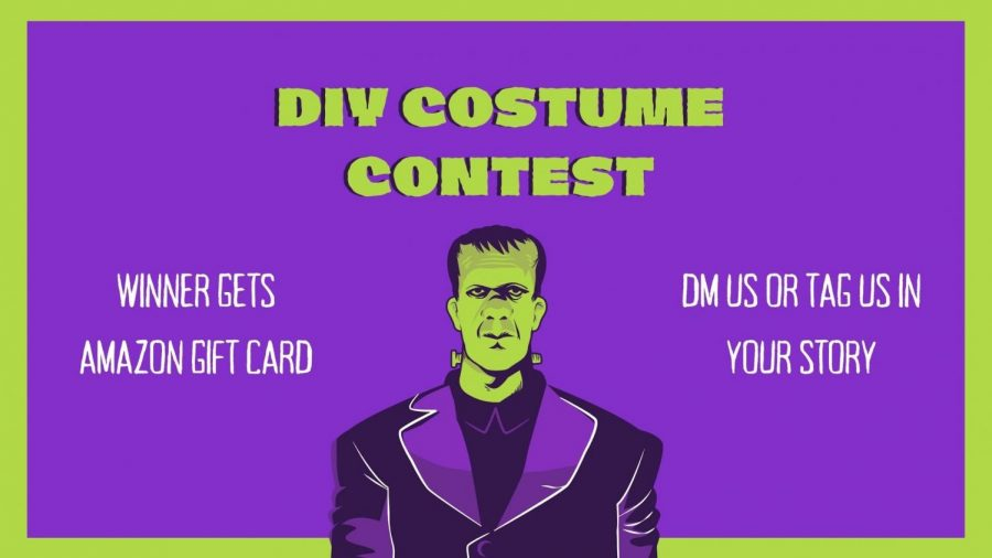 The+DIY+costume+contest+will+start+October+12+and+end+October+30.+No+store+bought+costumes+will+count+toward+a+student%E2%80%99s+submission%2C+only+homemade+costumes+will+count.+Start+preparing+those+costumes%21
