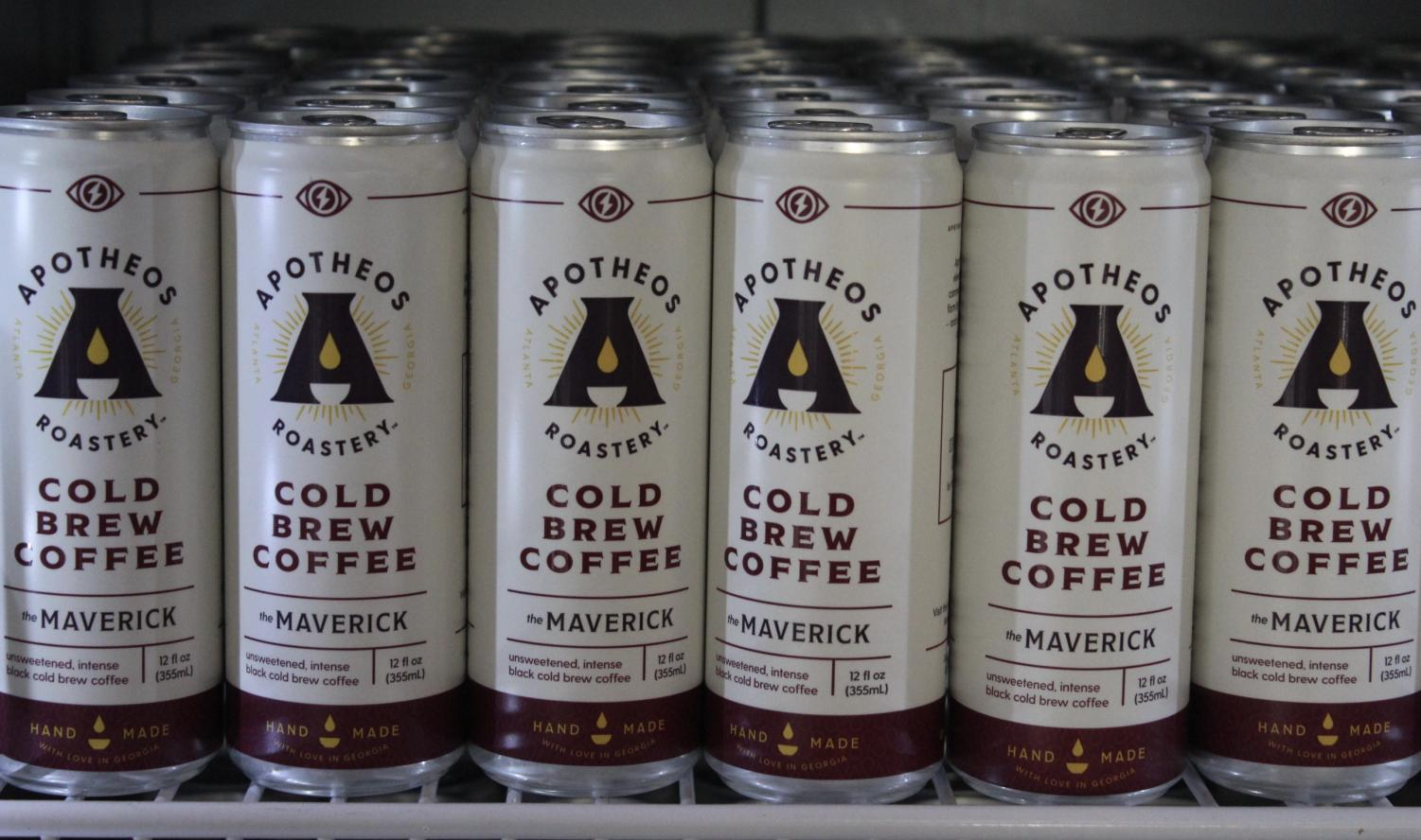 """Apotheos Roastery tears down stereotypes rooted in the coffee industry by specializing in cold brew coffee. Owner, Dale Hughes hopes to reconnect Kennesaw citizens by sharing his passion for cold brew coffee with his beloved community. """"Cold brew is a new phase of coffee; it's rising about 80% a year when looking at industry trends,"""" Hughes said."""