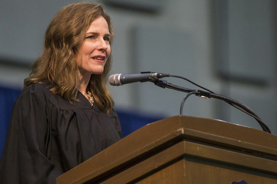 On October 26, 2020 Amy Coney Barret took her seat as Assistant Supreme Court Justice and ensured the Conservative majority within the Supreme Court. Prior to her nomination, Barret served as an American Lawyer and Jurist.