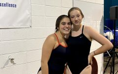 Jasmine Negron, pictured right, loves diving for the NC swim team. Jasmine participates in the NC International Studies Magnet program and balances her schoolwork and training very well, as she qualified for state this past season. Negron can not wait for what next season will bring, as she continues to work hard to pursue her dreams.