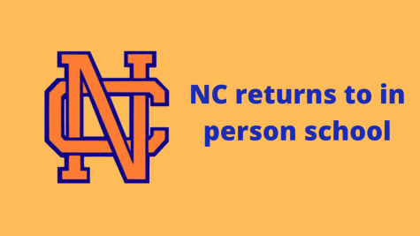 After remaining virtual for the first half of the year, NC returned to the building in November. A number of students returned while others still remain virtual, nervous to join all of the others that come to school everyday.
