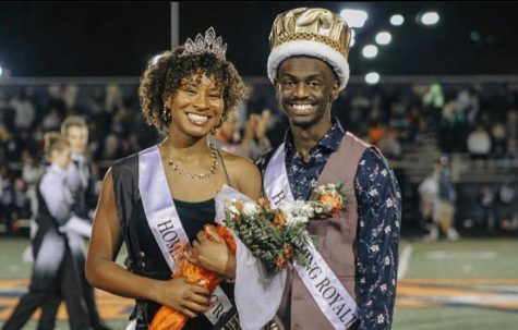 NC Homecoming King and Queen from last school year in 2019 pose for a photo. In a year of uncertainty, NC Tribal Connections decided to host a unique Homecoming to raise school spirits. Although it will not resemble previous Homecomings entirely, it will feature a spirit week and Homecoming Court.