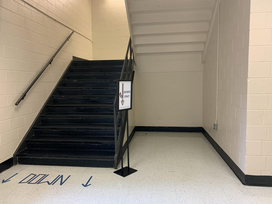 "The new 1958 hallway lies between the 600's hallway and back staircase. Students can enter this magical hall by both running full sprint into it, and exhibiting top notch school spirit. In order to receive a class in this hall, students must write why they think they deserve this privilege. ""I hope I can get almost all my classes in the 1958 hall next year. Go Warriors,"" NC junior Tatiana Cobos said."