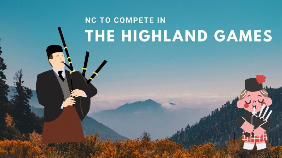 North Cobb student Flance Borgenstein celebrates after hearing the announcement that NCHS will participate in the upcoming  Scottish Highland Games. The games themselves date back hundreds of years to ancient scottish and celtic clan traditions and rituals.