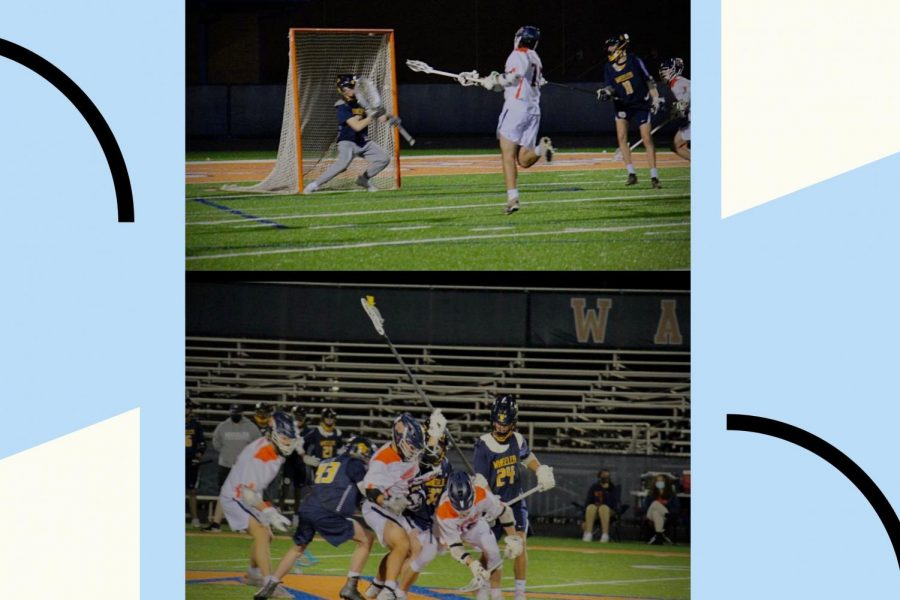 "The NC varsity lacrosse team begins training for the tough season ahead by working hard and practicing six days a week. Through their first couple of games, players can gage the competition for the rest of the season and where to improve. ""I think the team could work on our unity, especially at practices. We are still working together and getting better at playing as a team,"" said senior captain Trenton Nolen."