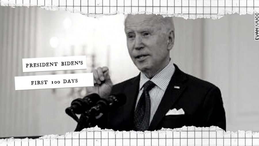 While Presidents in the past have faced immense public pressure in the beginning of their terms, few compare to the pressure faced by President Joseph Biden. By taking office after Donald Trump as well as the circumstances surrounding fraudelance in his election, Biden continues to face scrutiny and the public keeps a close eye on him and has closely monitored his first 100 days.