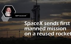 """""""I think the reusable technology on the Crew-2 launch is a smart investment by NASA and SpaceX. I can see it benefiting the world in a lot of ways, not only can space travel be possible for average people one day but being able to find resources and room on other planets for colonization could be part of a solution to the ongoing problems on our own planet,"""" said junior Bryan Casalini. Earth issues including global warming and overconsumption led companies like SpaceX to seek out solutions in space. Although commercial spaceflight and interplanetary colonization sits far outside of people's paychecks, cheapening spaceflight through reusability also reduces the amount of resources required by rockets and spacecraft."""