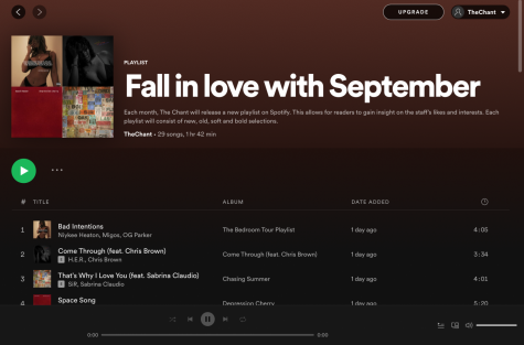 Dive into The Chants Fall playlist!