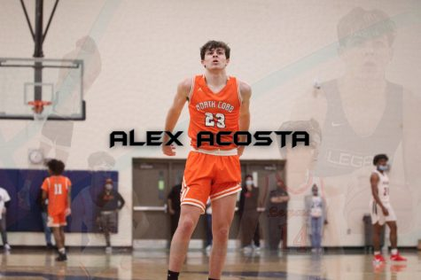 NC magnet senior Alex Acosta collected several Division 2, Division 3, and NAIA collegiate offers over the course of the summer. Acosta attracted attention from college coaches from all over the country due to his tenacity as a finisher and rebounder. Acosta began his high school career on the freshman team but quickly moved up to the varsity squad. In his sophomore year, Acosta provided quality minutes on the 2019-2020 team that reached the region championship. Acosta looks forward to a bright senior season filled with impressive team wins and memorable moments with his teammates.