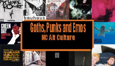 """Anyone involved in them will tell you the distinctions between the numerous alternative subcultures. Of these, several groups have found a home at NC. Despite all the differences between goths, punks, etc, they all share common ground in listening to music that receives less than global attention. """"[The music] is what really differentiates most alt subcultures from each other because the majority [of them] are music based. If you don't listen to the music you're a poser,"""" senior Chloe Mcspadden said."""